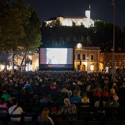 Open-air Cinema at Congress Square, photo: Katja Goljat, Kinodvor