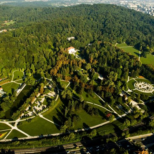 Tivoli Roznik and Sisenski Hrib Nature Park in the middle of Ljubljana photo B.Ceak source MOL