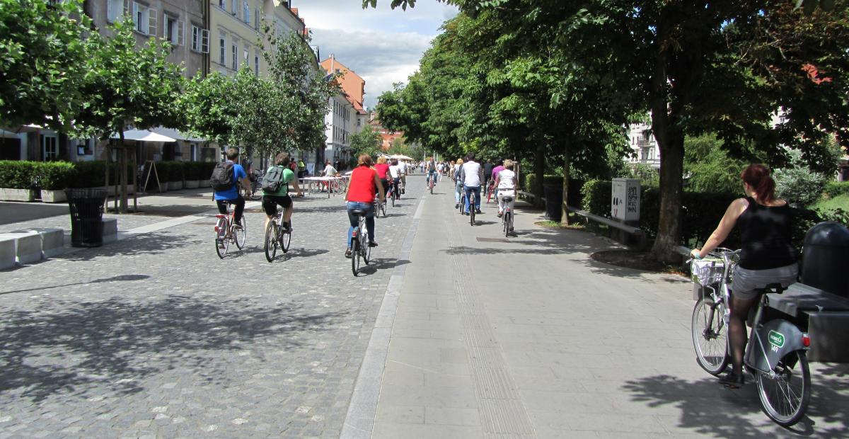 Ljubljana, bicycle friendly city
