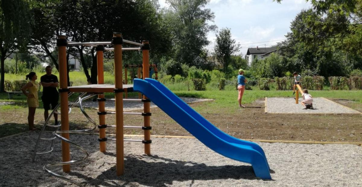 All 214 public children's playgrounds in the municipality are admission free, which enables for all the children time to play and enjoy their free time. Photo: Archive Snaga