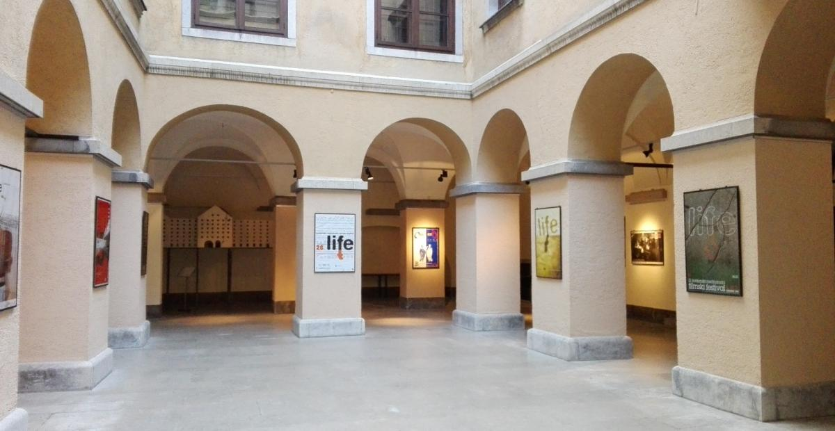 The exhibition spaces at City Hall:. the Historical Atrium