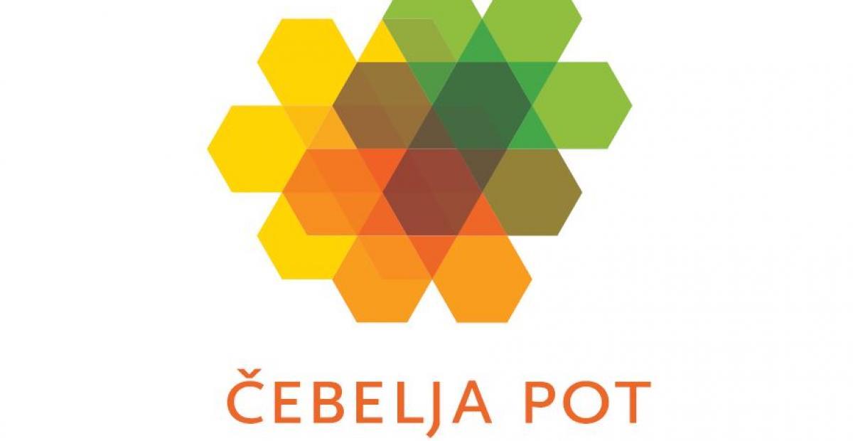 Uraden logotip blagovne znamke Čebelja pot