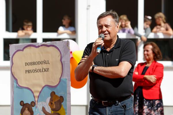 Gradonačelnik Zoran Janković tokom obraćanja